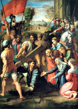 'Christ Falling on the Way to Calvary,' by Raphael