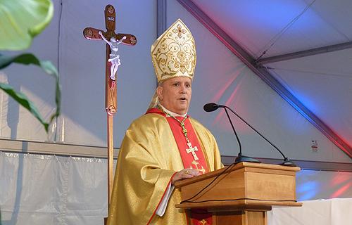 Archbishop Samuel Aquila of Denver.
