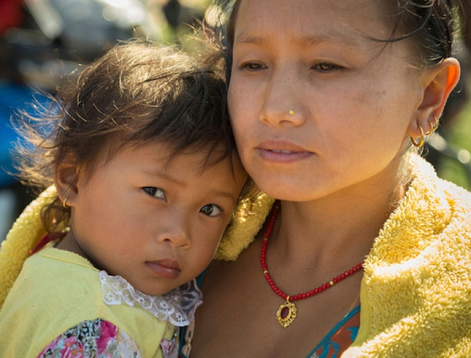 Relief efforts help families all over the world including Nepal.