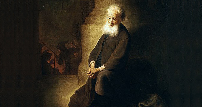 A Repentant St Peter by Rembrandt