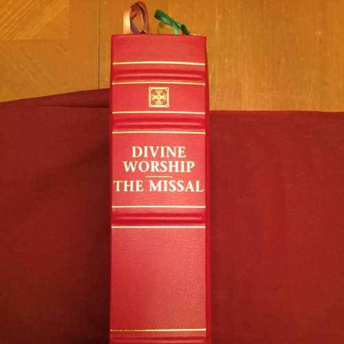The new Divine Worship missal, which combines the ordinary Roman rite with Anglican liturgical texts dating back to 1549, will be introduced in Anglican ordinariate parishes this Sunday.