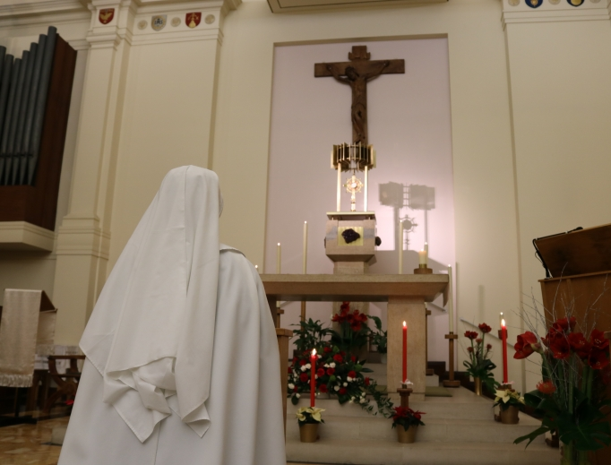 Adoration is the heart of the community of Tyburn.