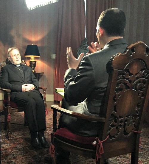 Raymond Arroyo interviews Cardinal Walter Kasper on 'The World Over.'