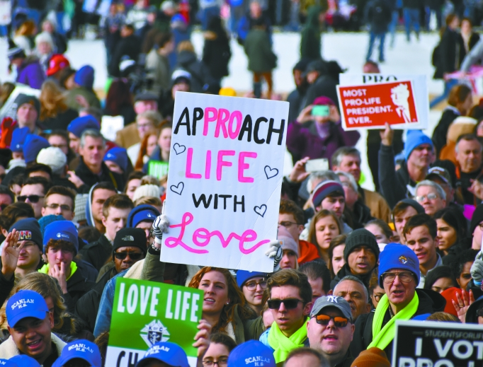 On Jan. 24, as tens of thousands of people came to support the unborn, President Donald Trump addressed the pro-life crowd at the March for Life in Washington.