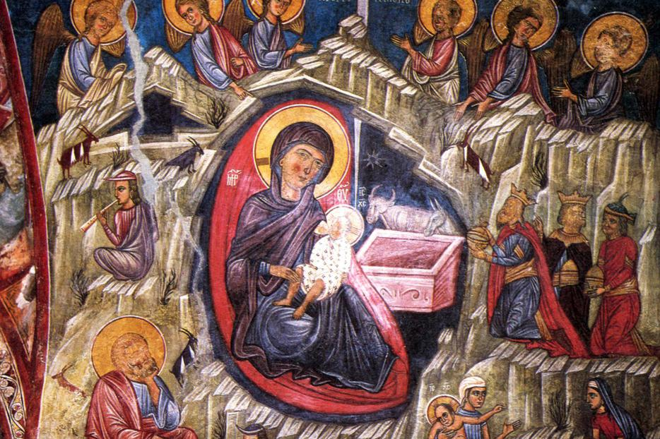 "Unknown, ""The Nativity of Jesus Christ"", Cyprus, 14th century"