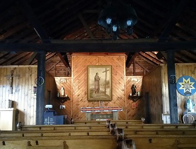ABOVE: St. Peter Chapel, Kateri Shrine.