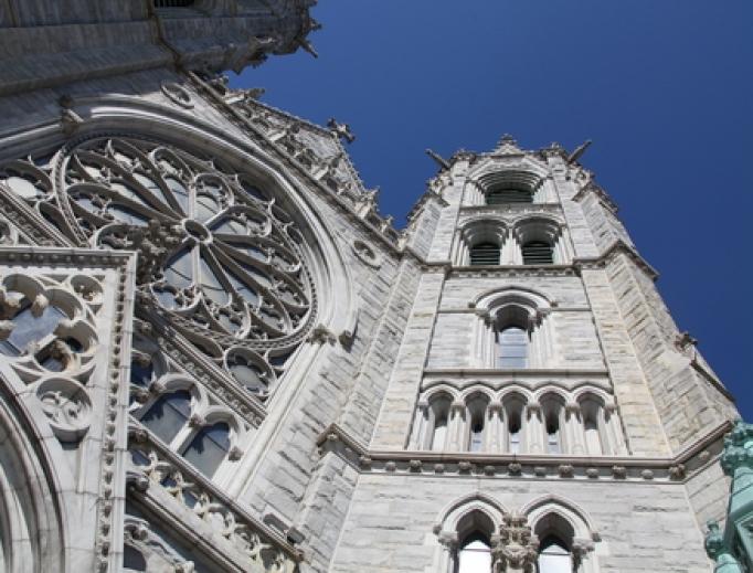Basilica of the Sacred Heart Cathedral in Newark, N.J.