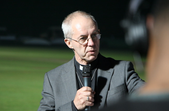 Most Rev. Justin Welby, the Anglican Archbishop of Canterbury.