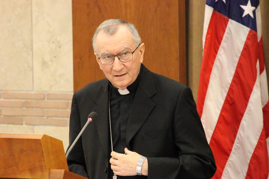 Cardinal Pietro Parolin, the Vatican's secretary of state