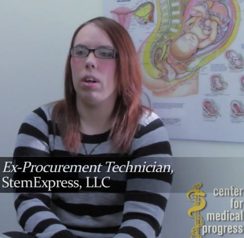 Holly O'Donnell, a former human tissue-procurement company employee, discusses her experiences in a Center for Medical Progress video released July 28.