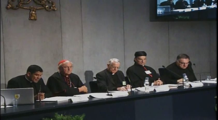 Vatican briefing on the Synod, Tuesday 7 October 2014.