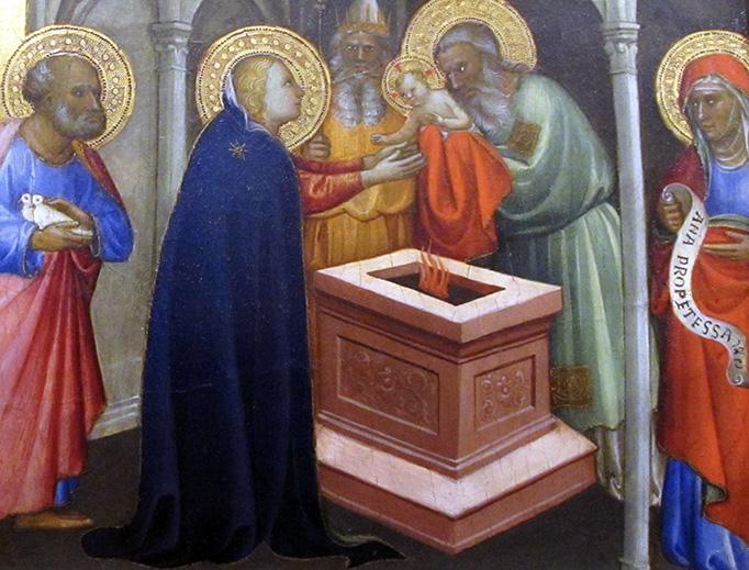 """Gherardo Starnina (1354-1413), """"The Presentation of Jesus in the Temple"""""""