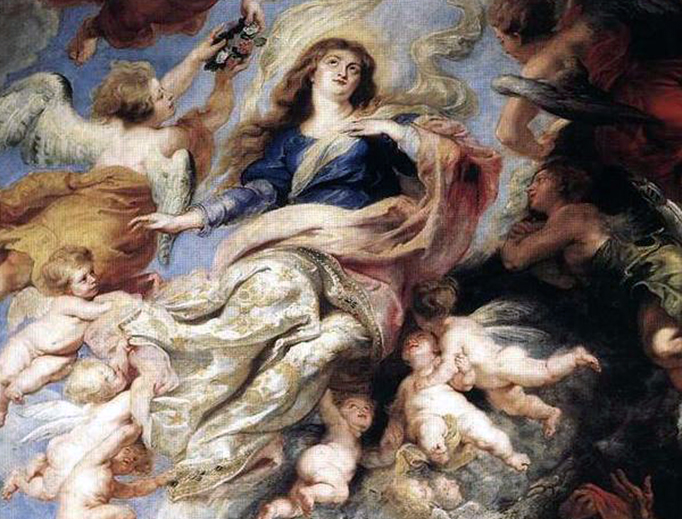 """Peter Paul Rubens, """"The Assumption of Mary,"""" 1626"""