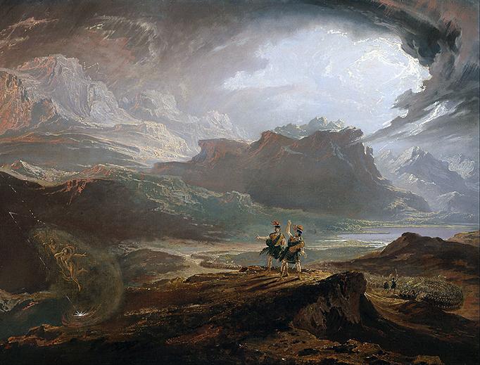 "John Martin, ""Macbeth,"" 1820"