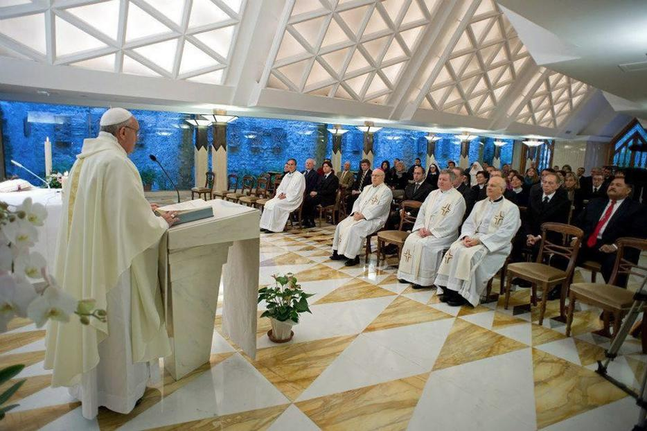 Did Pope Francis just tip his hand on Medjugorje in a daily homily?