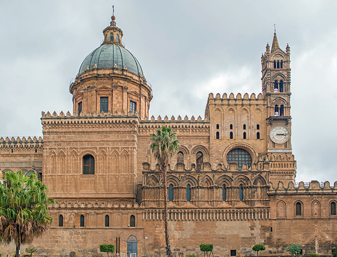 The Cathedral of Palermo — the city where Mother Vincenzina served Christ and his poor.