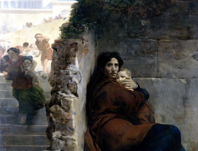 """Léon Cogniet (1794-1880), """"The Massacre of the Innocents"""""""