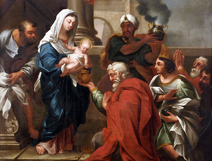 "Michele Rocca (1671–1752), ""Adoration of the Magi"""