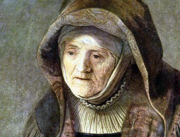 "Rembrandt, ""The Prophetess Anna"", 1639"