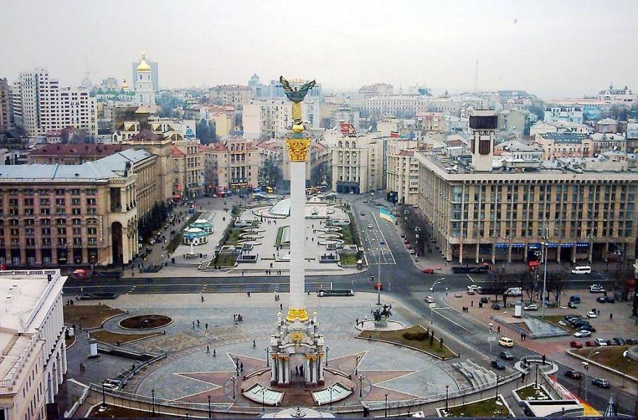 Maidan Square, pre-violence