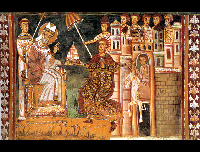 San Silvestro Chapel at Santi Quattro Coronati, Rome, 1247