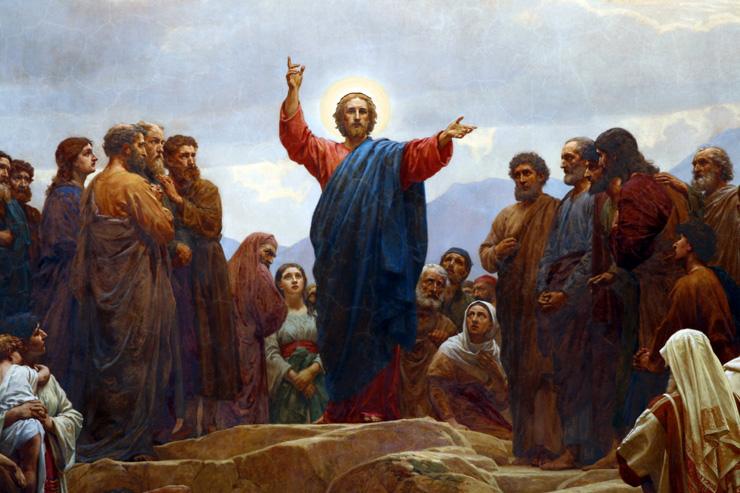 Sermon on the Mount by Henrik Olrik