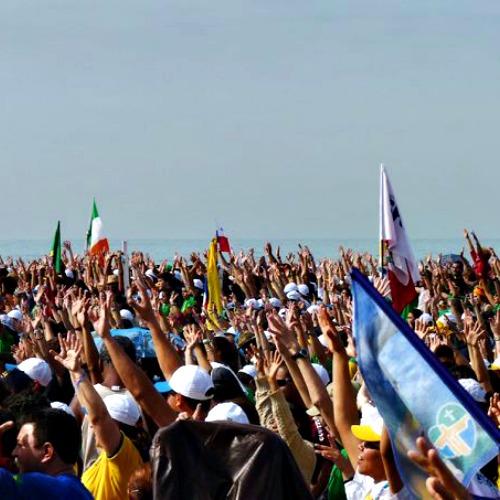 World Youth Day in Rio de Janeiro, Brazil July 2013.