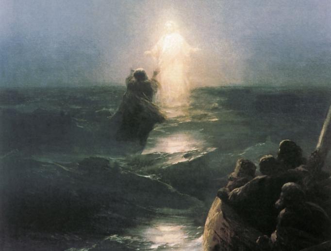 Jesus Walks on the Water (1888)