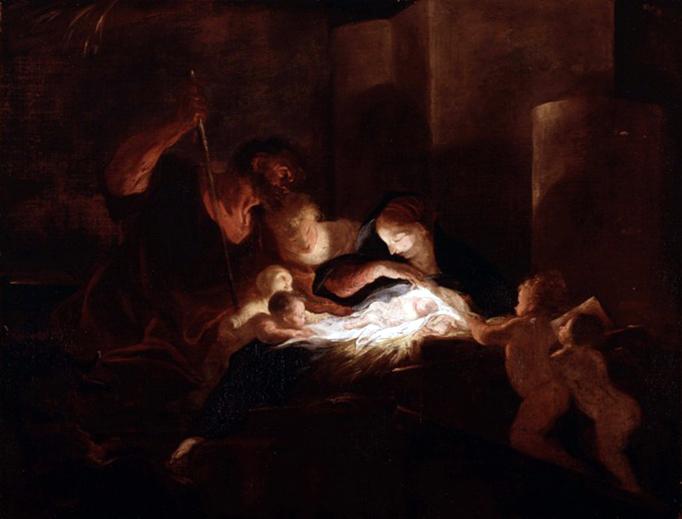 "Louis Cretey (1635-1702), ""The Nativity"""