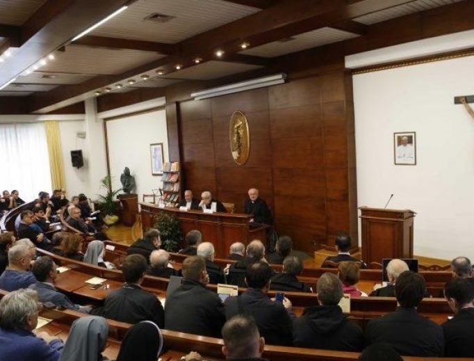 A meeting is underway at the John Paul II Pontifical Theological Institute for Marriage and Family Sciences in Rome.