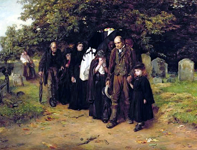 """Francis Montague Holl, """"I Am the Resurrection and the Life,"""" 1872"""