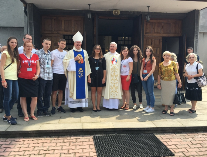 Final catechesis at Mary, Queen of Poland Church, established by St. John Paul II in the mid-1970s before his papal election.