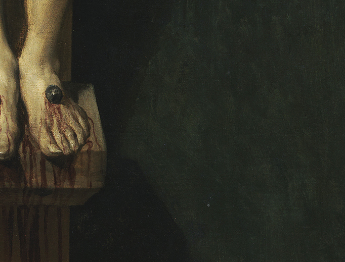 "Diego Velázquez, ""Christ Crucified"" (detail), c. 1632"