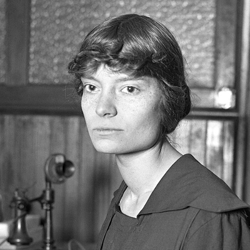 Dorothy Day, American journalist, social activist and Catholic convert, circa 1916.