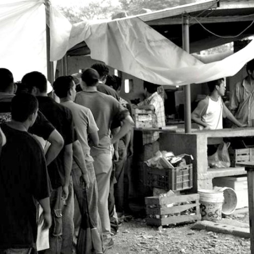Central American migrants in Mexico.