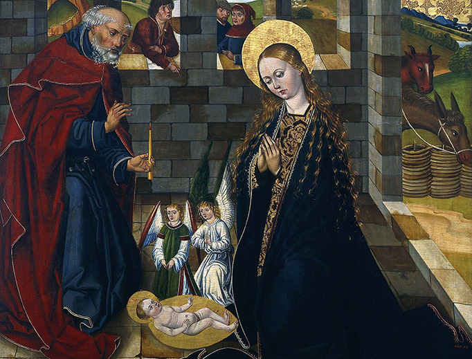 "Unknown, ""Adoration of the Child,"" 1486"