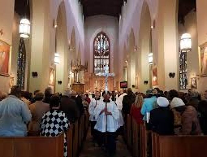Cathedral of St. Mary in Cape Town, South Africa.