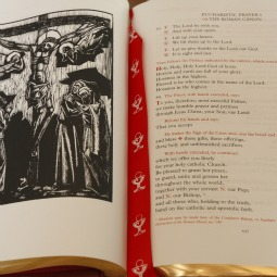 The cover to a parish guide on the English translation of the new edition of the Roman Missal. The guide is among the resources being made available by the U.S. Conference of Catholic Bishops before the missal goes into use in late November next year.