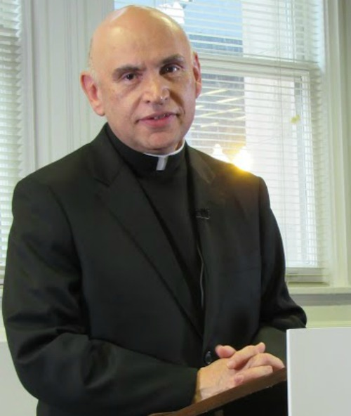 Father Mario Dorsonville was appointed this month by Pope Francis as an auxiliary bishop in Washington.
