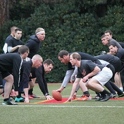Seminarians from the NAC face off in the 2013 Spaghetti Bowl.