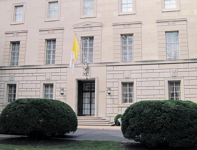 The Apostolic Nunciature to the United States in Washington, D.C.