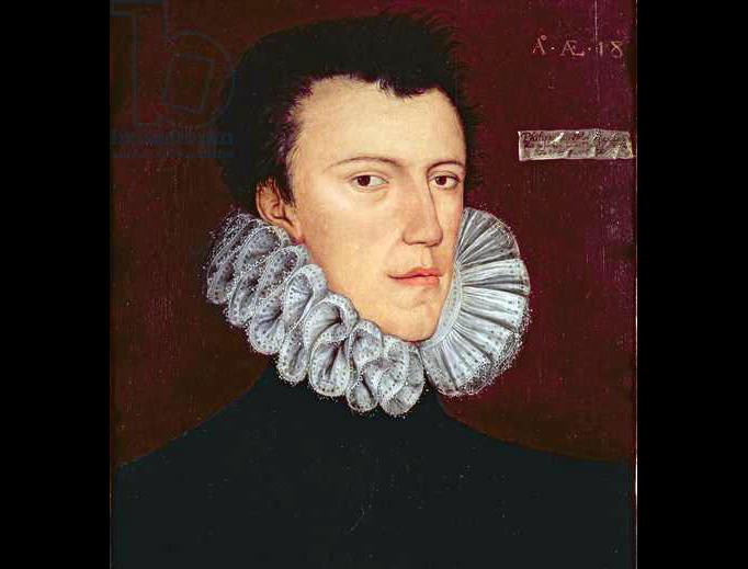 """George Gower, """"Portrait of Philip Howard, 20th Earl of Arundel"""" (c. 1575)"""