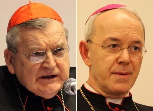 Cardinal Raymond Burke and Bishop Athanasius Schneider