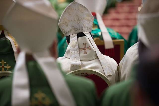 Opening Mass for the synod of bishops on the family Oct. 8, 2015.