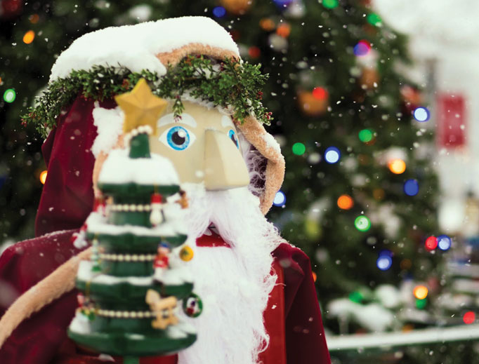 From a Steubenville nutcracker display to Advent and Christmas-centered chocolate and a Nativity scene in Chicago, signs of Christmas can be found across the country.