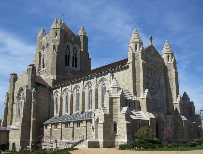 Blessed Sacrament Cathedral in Greensburg, Pennsylvania.