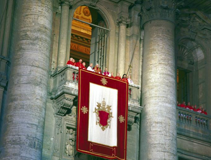 First appearance of Pope John Paul II in 1978