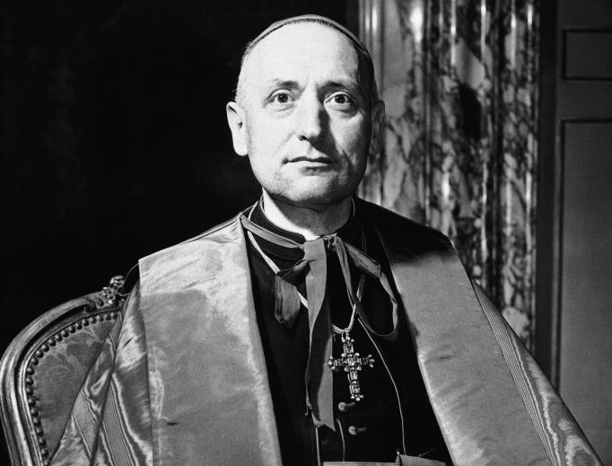 Cardinal Jozsef Mindszenty, primate of Hungary, 1946