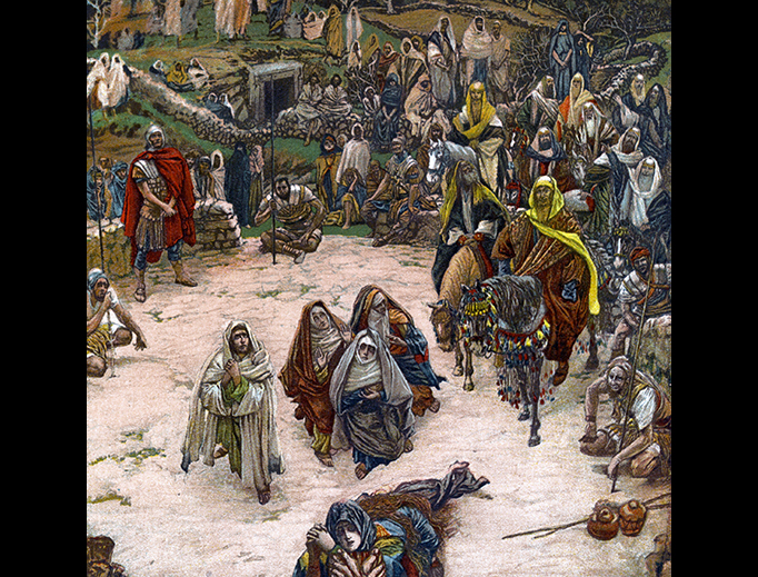 "James Tissot (1836-1902), ""What Our Saviour Saw from the Cross"""