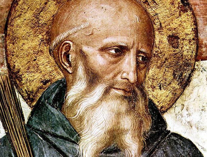 "Fra Angelico, ""St. Benedict of Nursia"" (c. 1437-1446)"